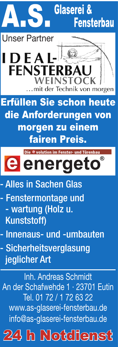 A.S. Glaserei & Fensterbau