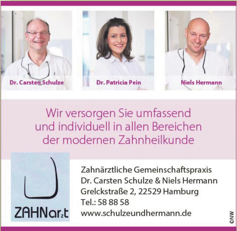 Zahnärztliche Gemeinschaftspraxis Dr. Carsten Schulze & Niels Hermann