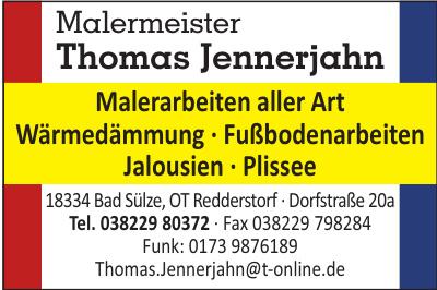 Malermeister Thomas Jennerjahn
