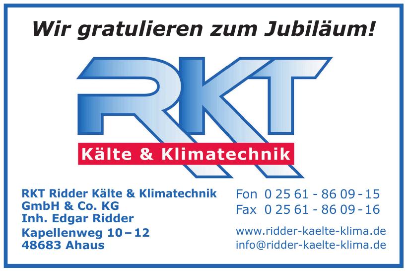 RKT Ridder Kälte & Klimatechnik GmbH & Co. KG