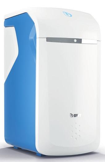 Die Perlwasseranlage von BWT sorgt für kalkfreies Wasser im Haus Foto: BWT