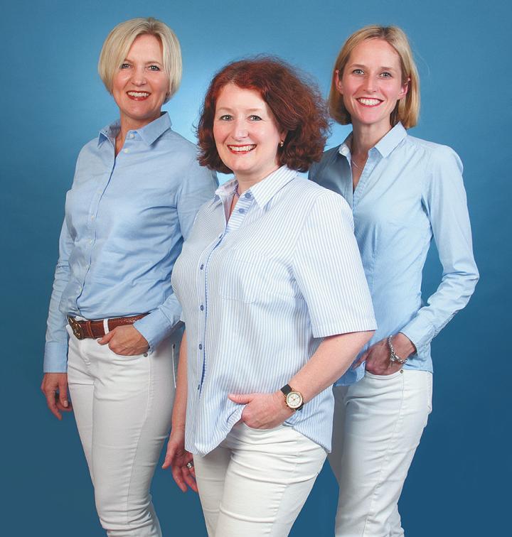 Martina Broocks, Bettina Statz und Stephanie Hütten (v.l.) informieren über das Leben im Rosenhof Großhansdorf 1 Foto: Rosenhof