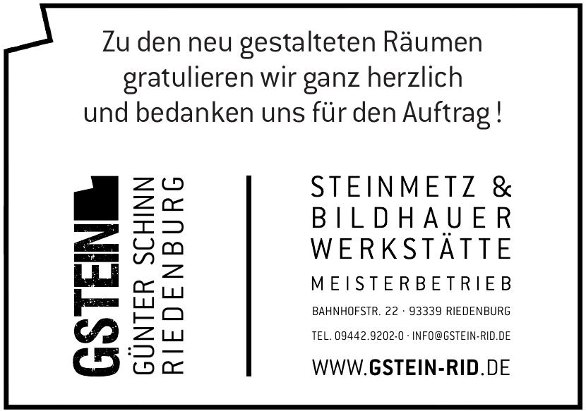 GStein Günter Schinn Riedenburg