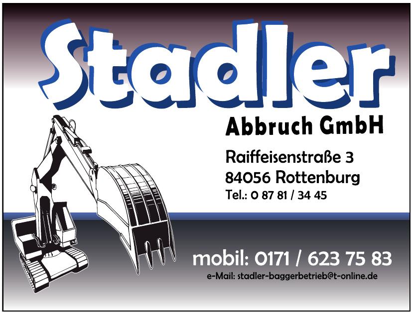 Stadler Abbruch GmbH