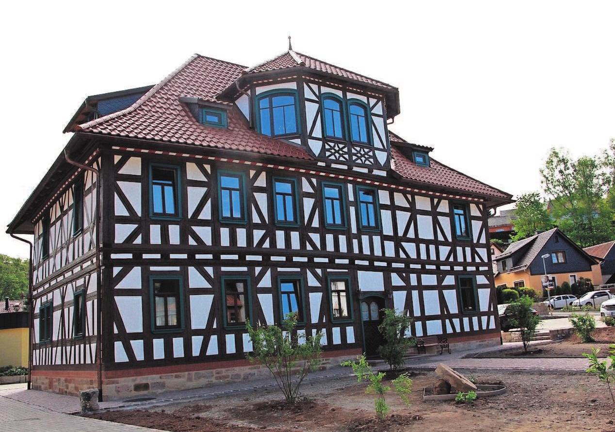 Heute ist die Jahrhunderte alte Mühle ein voll saniertes Schmuckstück.