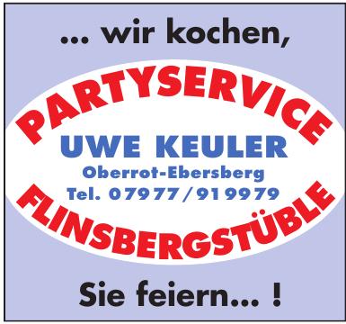 Partyservice Flinsbergstüble Uwe Keuler