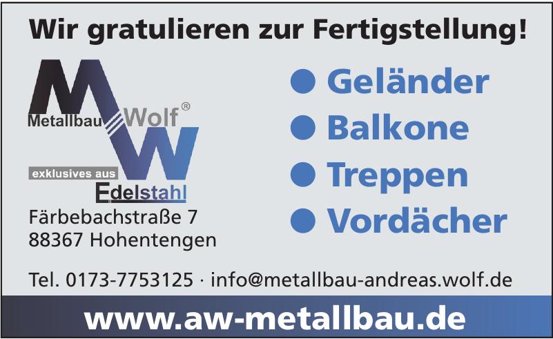 Metallbau Andreas Wolf