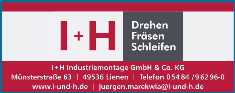 I+H Industriemontage GmbH & Co. KG