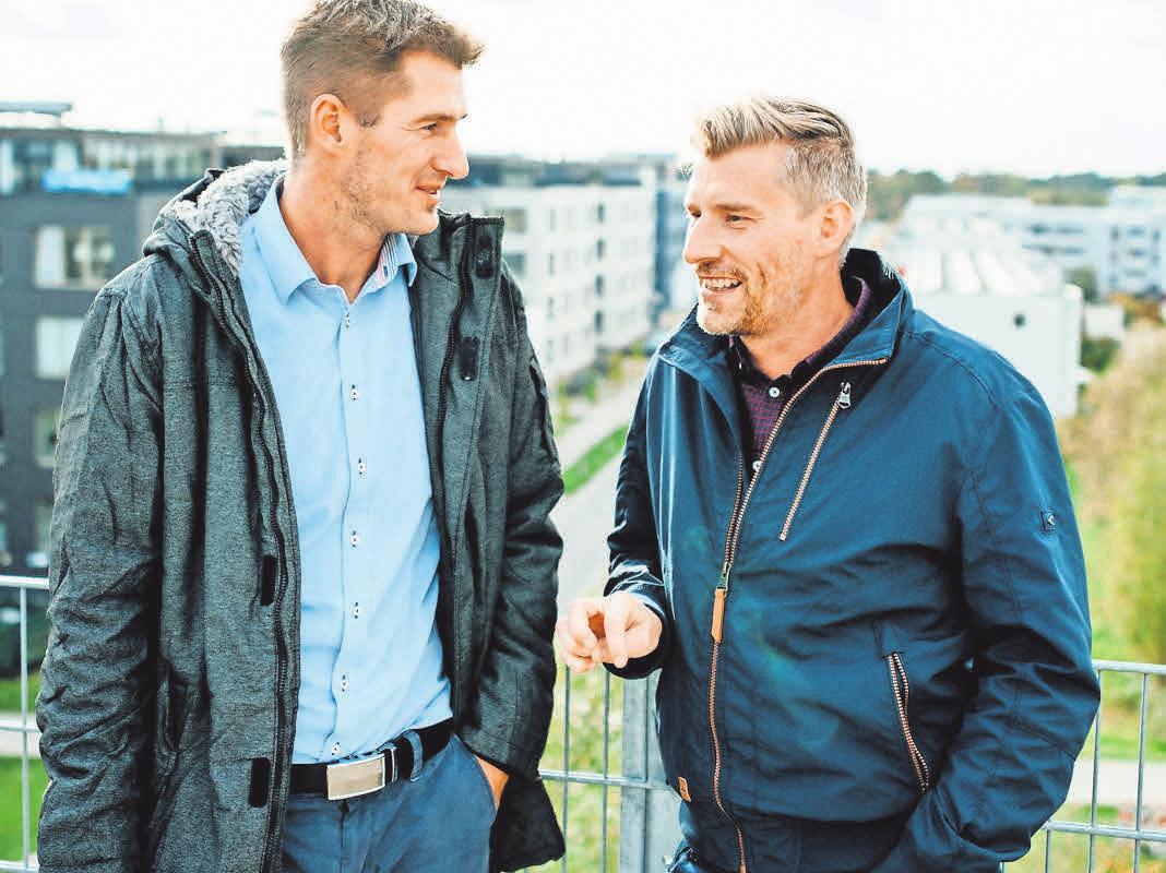 Nils Domian (CTO, Technischer Leiter, li.) und Deinert Schmidt (CEO, Geschäftsführer. Foto: Fotowerker-Ganzer&Berg GbR