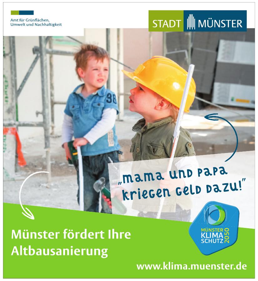 Münster Klimaschutz 2050