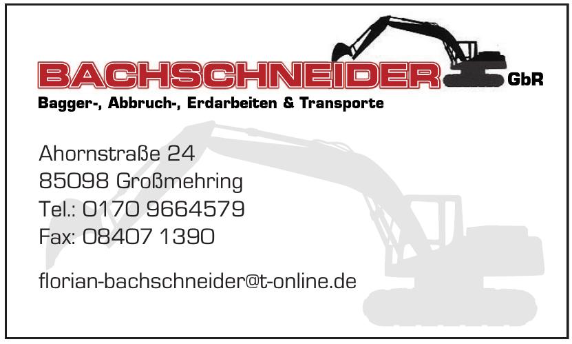 Bachschneider GbR