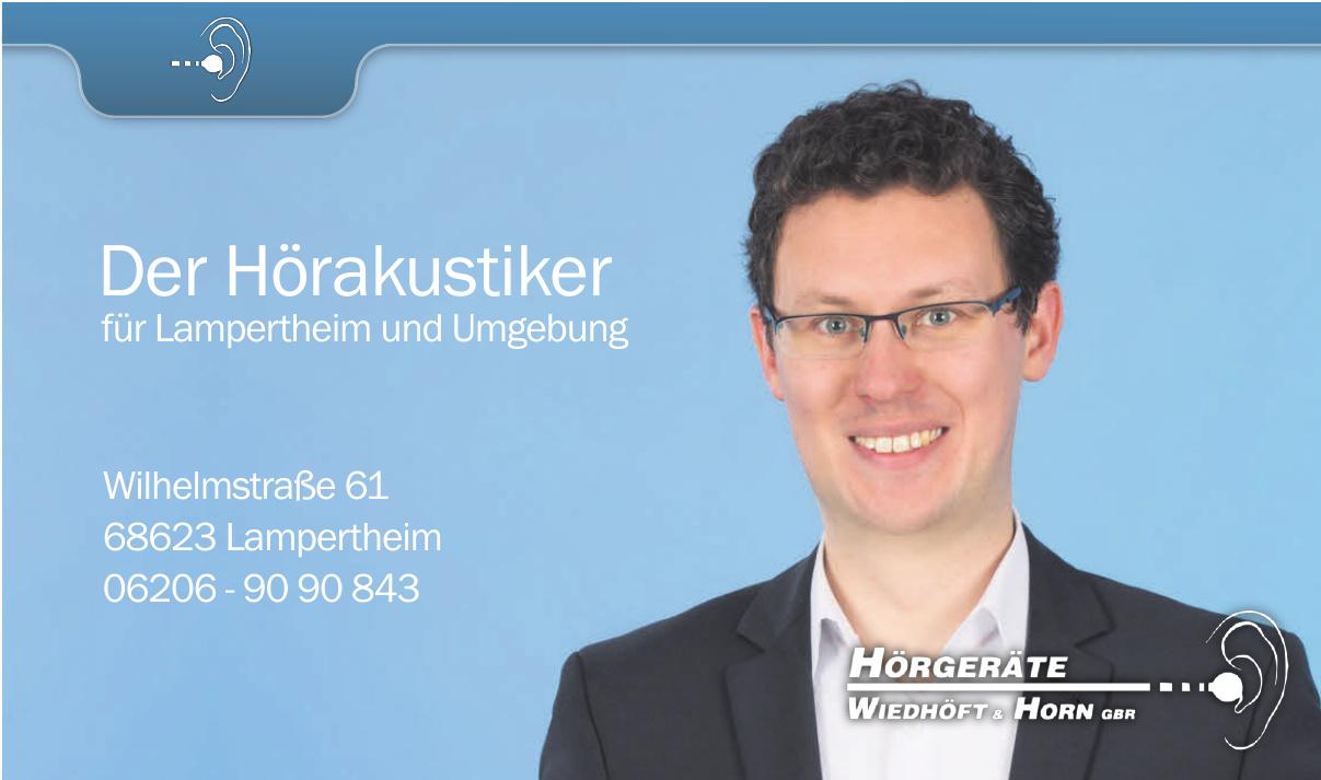 Hörgeräte Wiedhöft & Horn GBR