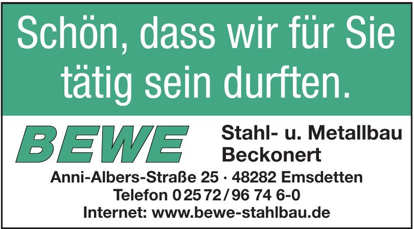 Bewe Stahl- u. Metallbau Beckonert