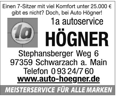 1a autoservice Högner