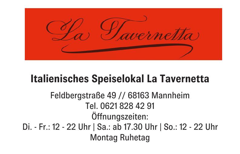 Italienisches Speiselokal La Tavernetta