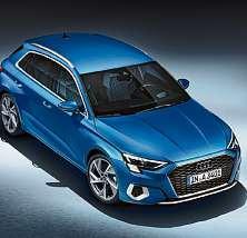 Der neue Audi A3 Sportback ist drei Zentimeter breiter und länger als der Vorgänger. Foto: Audi