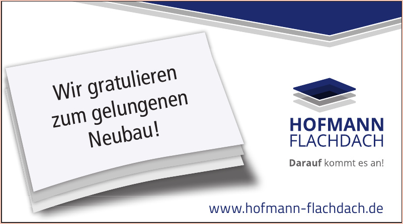 Hofmann Flachdach