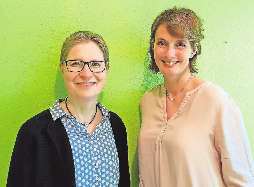 Sonja Winkelmann leitet seit nunmehr 20 Jahren die Praxis in Hemmingen-Arnum. Seit zehn Jahren steht ihr Sabine Brückner zur Seite.