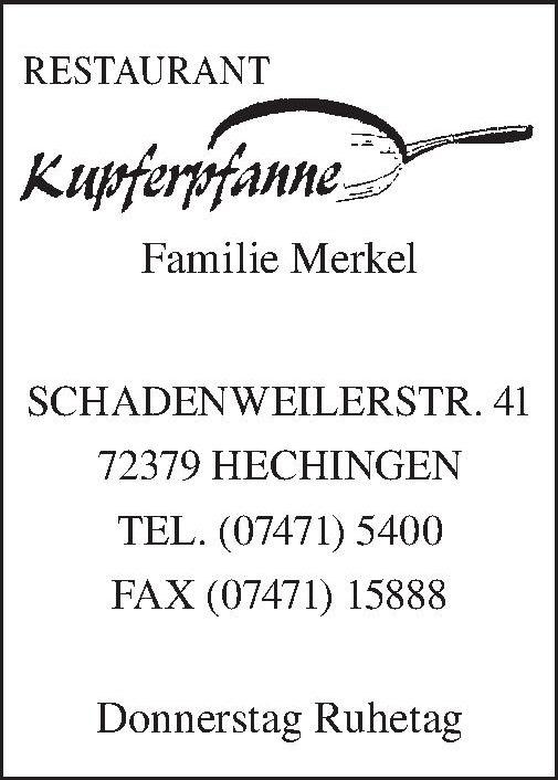 Restaurant Kupfertfanne