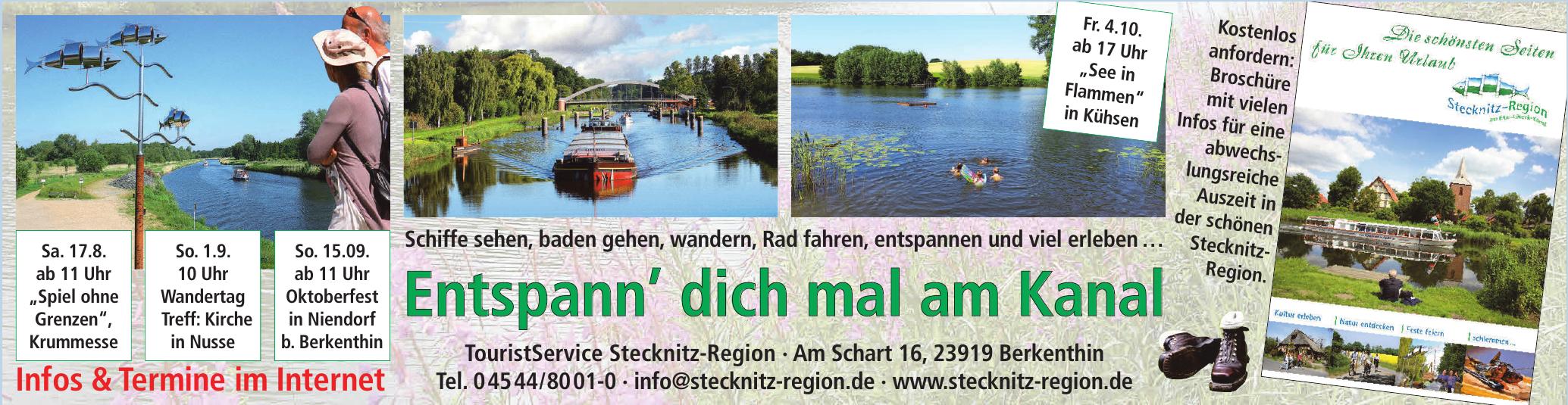 TouristService Stecknitz-Region