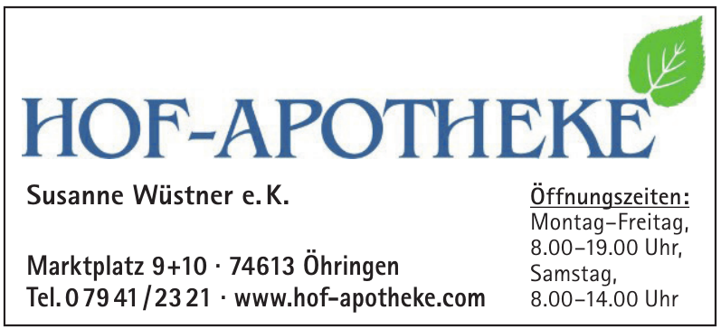 Hof Apotheke