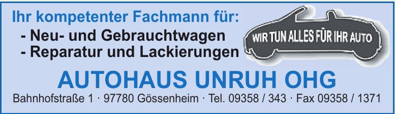 Autohaus Unruh OHG