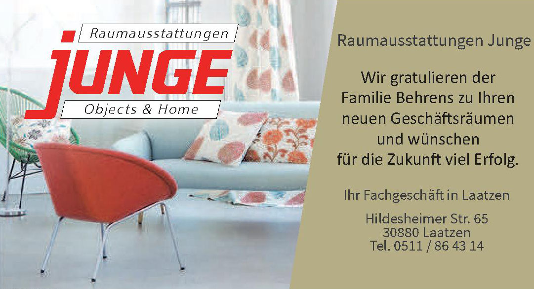 Raumausstattungen Junge Objects & Home
