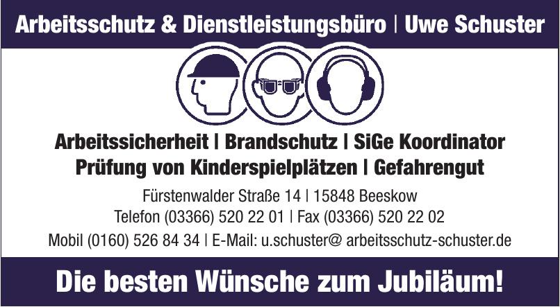 Arbeitsschutz & Dienstleistungsbüro - Uwe Schuster