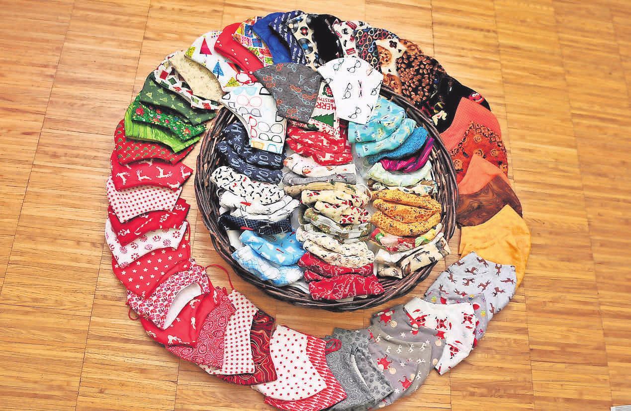 In dem Geschäft an der Vardegötzer Straße 10 in Jeinsen gibt es mehr als 3000 verschiedene Stoffe.