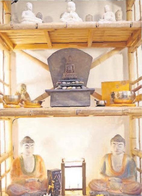 Das Bambus-Paradies bietet auch Inspirationen für Weihnachtsgeschenke.