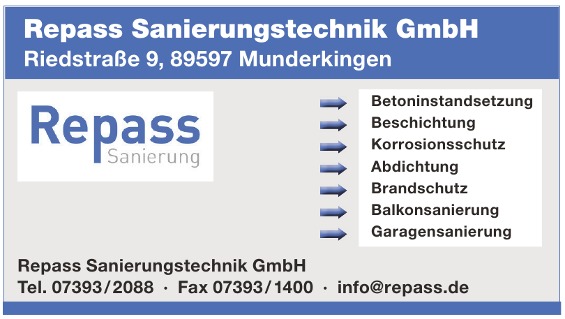 Repass Sanierungstechnik GmbH