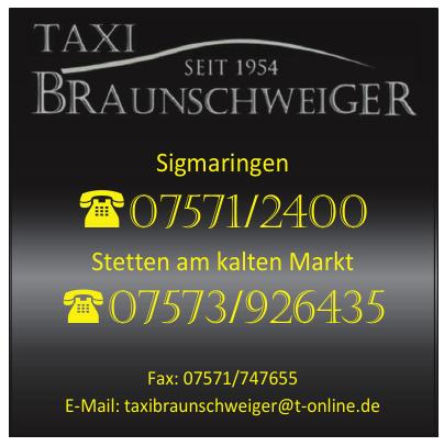 Taxi Braunschweiger