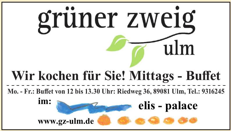Grüner Zweig Ulm