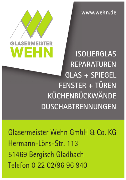 Glasermeister Wehn GmbH & Co. KG
