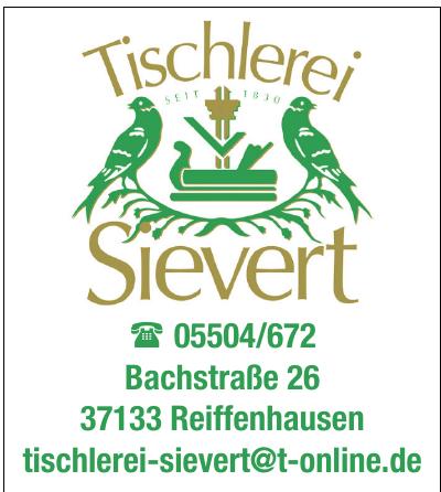 Tischlerei Sievert