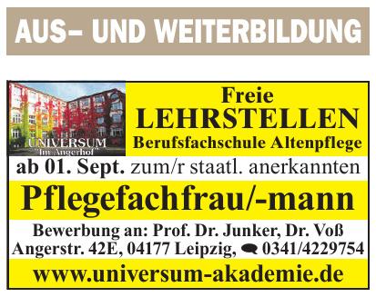 Universum-Akademie Private Berufsbildungs-Akademie Leipzig GmbH