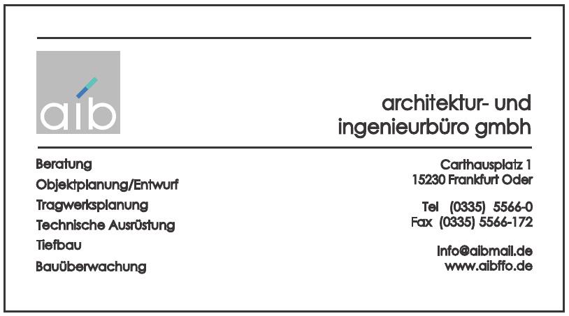 Aib Architektur- und Ingenierbüro GmbH