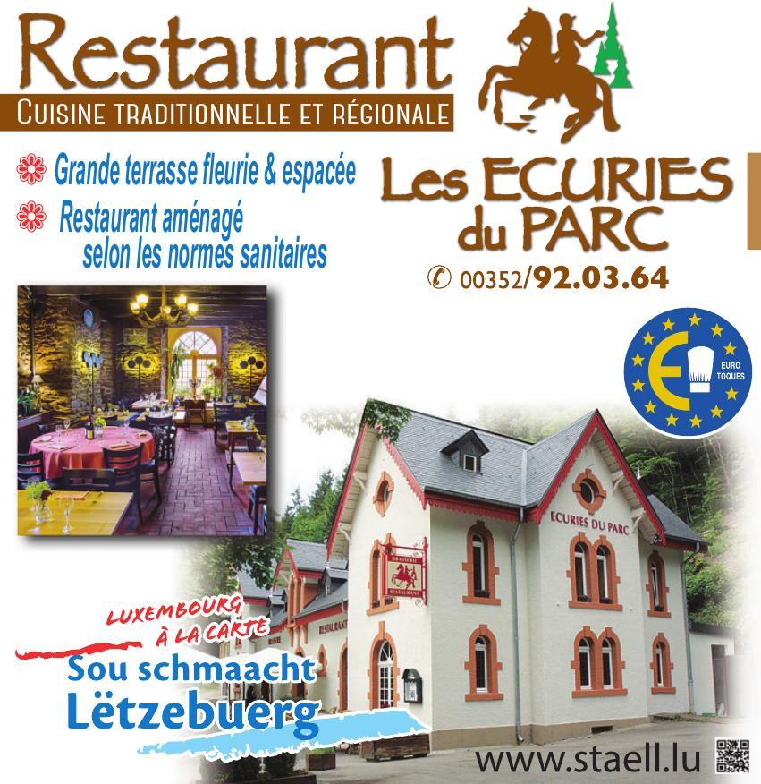 Restaurant Les Ecuries du Parc