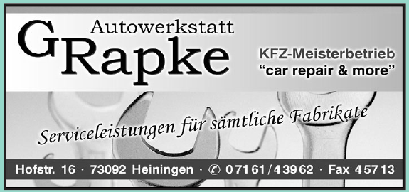 Autowerkstatt G. Rapke