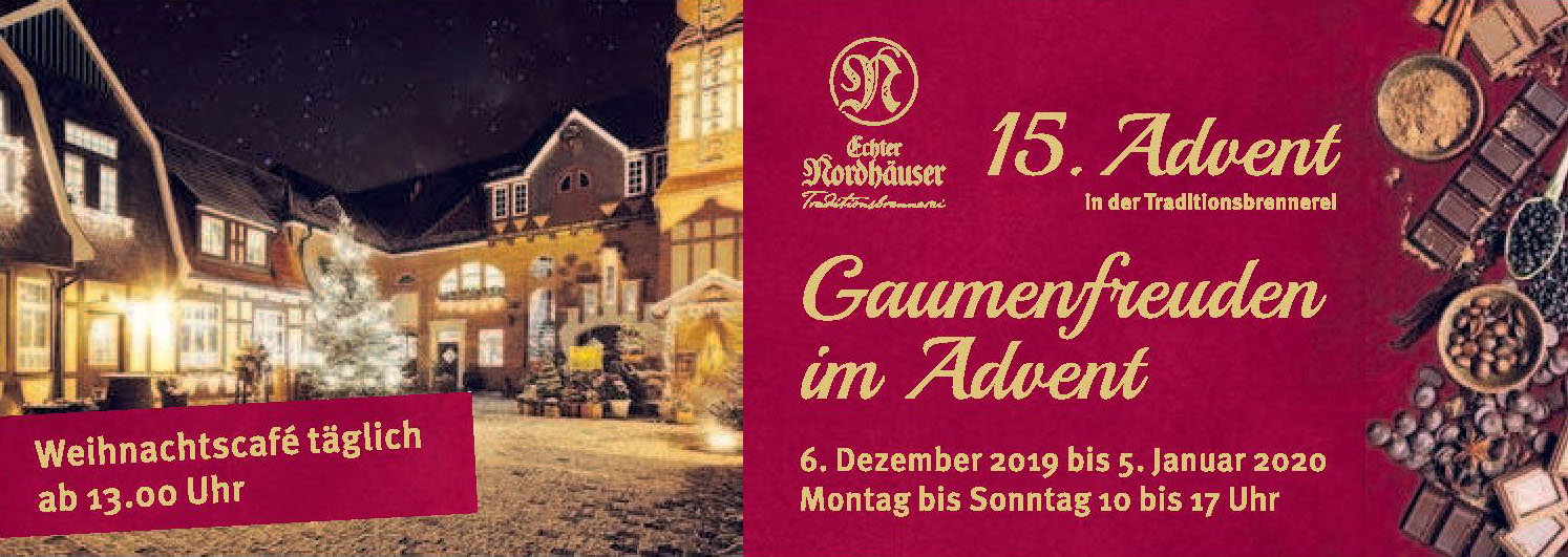 15. Advent in der Traditionsbrennerei