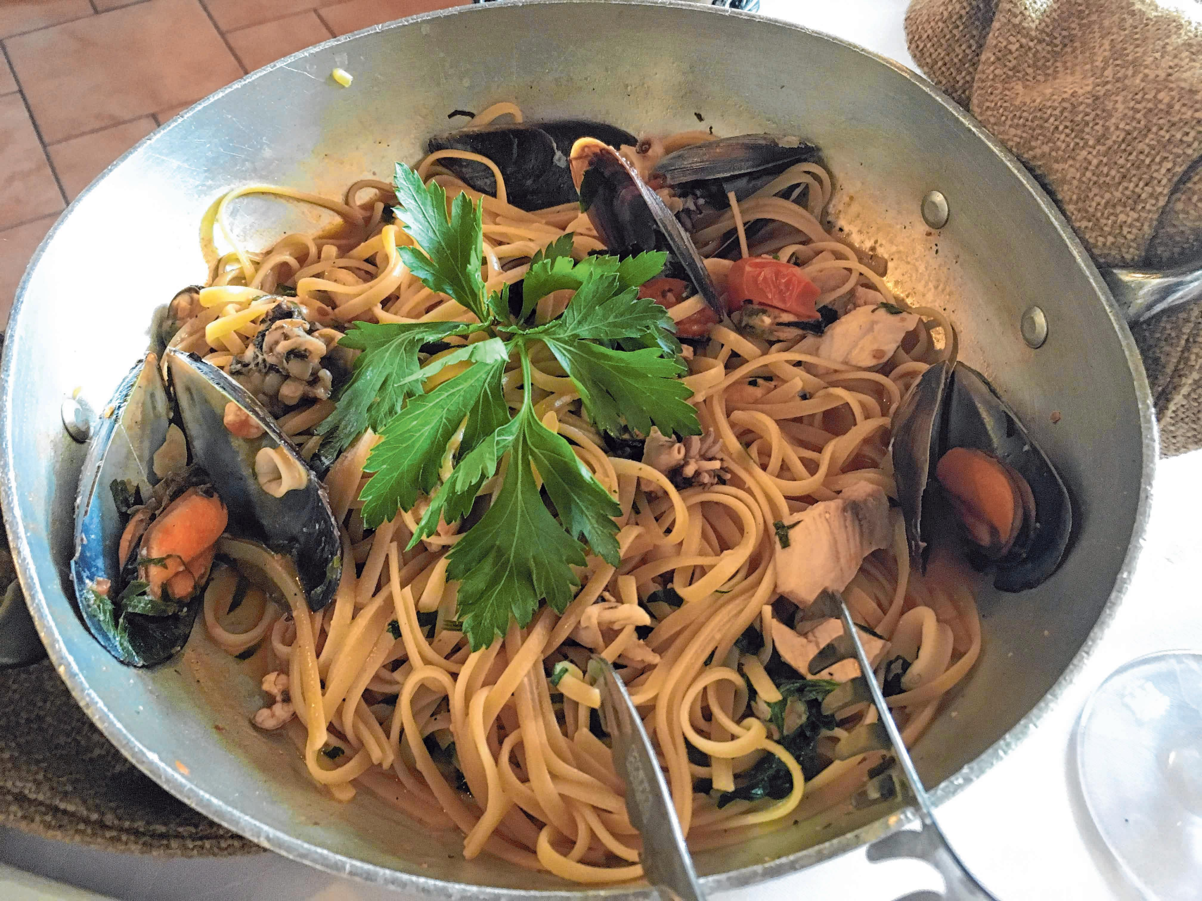 Spaghetti Vongole - ein Klassiker. FOTO: NYF