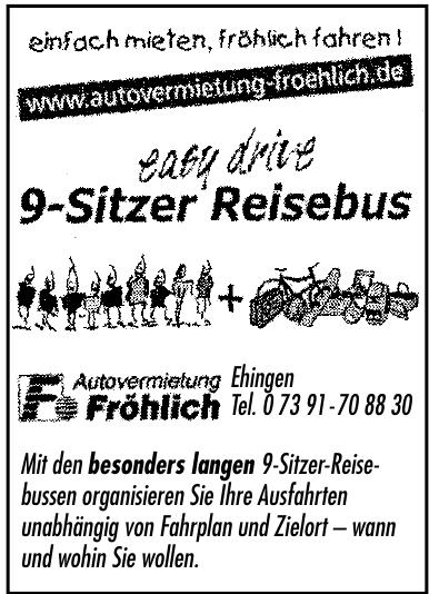 Autovermietung Fröhlich