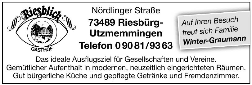 Riesblick Gasthof