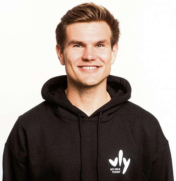 Nicolas Hartmann und seine beiden Partner brachten ihr Produkt Anfang des Jahres auf den Markt. FOTO: TANITH SCHMELZEISEN