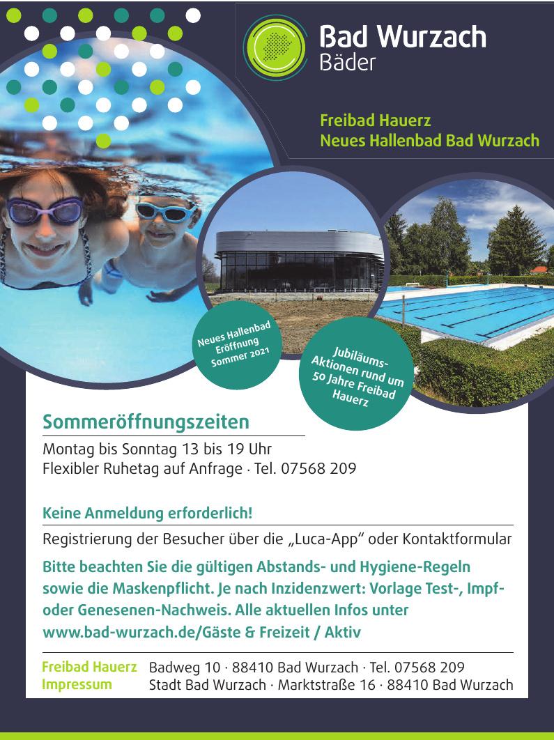 Freibad Bad Wurzach - Hauerz