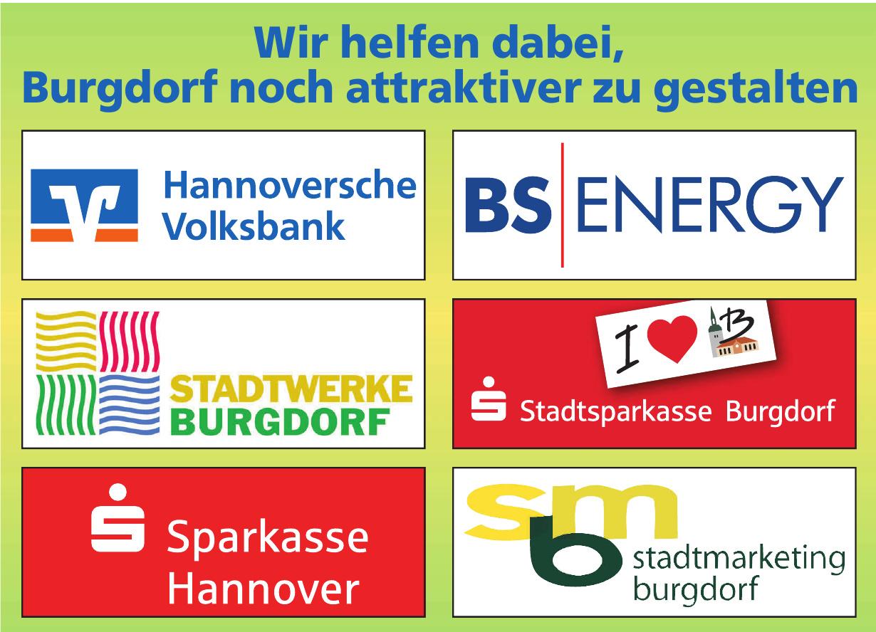 Wir helfen dabei, Burgdorf noch attraktiver zu gestalten