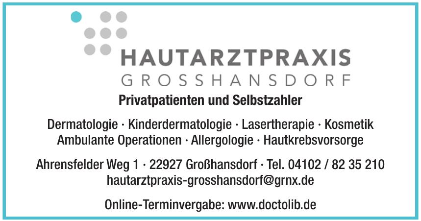 Hautarztpraxis Großhansdorf