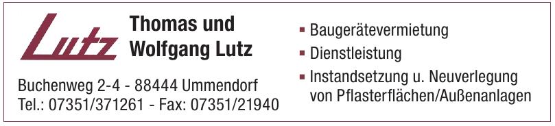 Thomas und Wolfgang Lutz