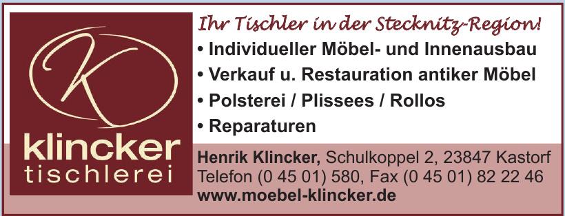 Henrik Klincker Tischlerei