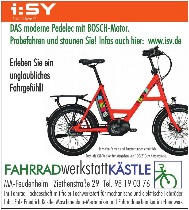 i:SY Fahrradwerkstatt Kästle
